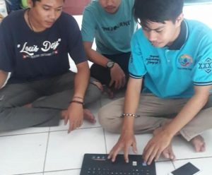 Pemuda dilatih dengan marketing online