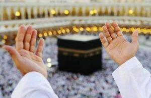 Berdoa dan beribadah ke tanah suci Mekah