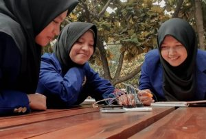 Mahasiswa UNY pencipta Smart Braille Box.