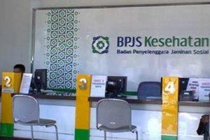Ruang kantor layanan BPJS Kesehatan