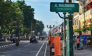 Malioboro, salah satu kawasan ekonomi Yogya yang ikut terimbas Coronavirus