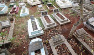 Ilustrasi lokasi pemakaman.