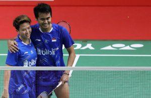Tontowi Ahmad dan Liliyana Natsir