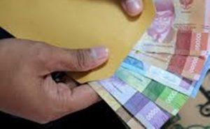 Ilustrasi uang penghasilan.
