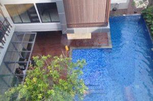 Kolam renang, menjadi salah satu fasilitas layanan hotel