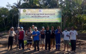 Lokasi kebun buah yang dikelola PCM Turi