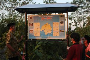 Peresmian peta 'Dewi' Terban