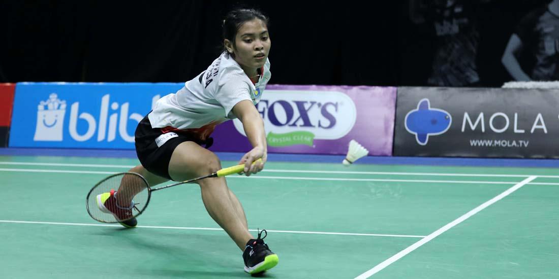 Salah satu atlet andalan Indonesia