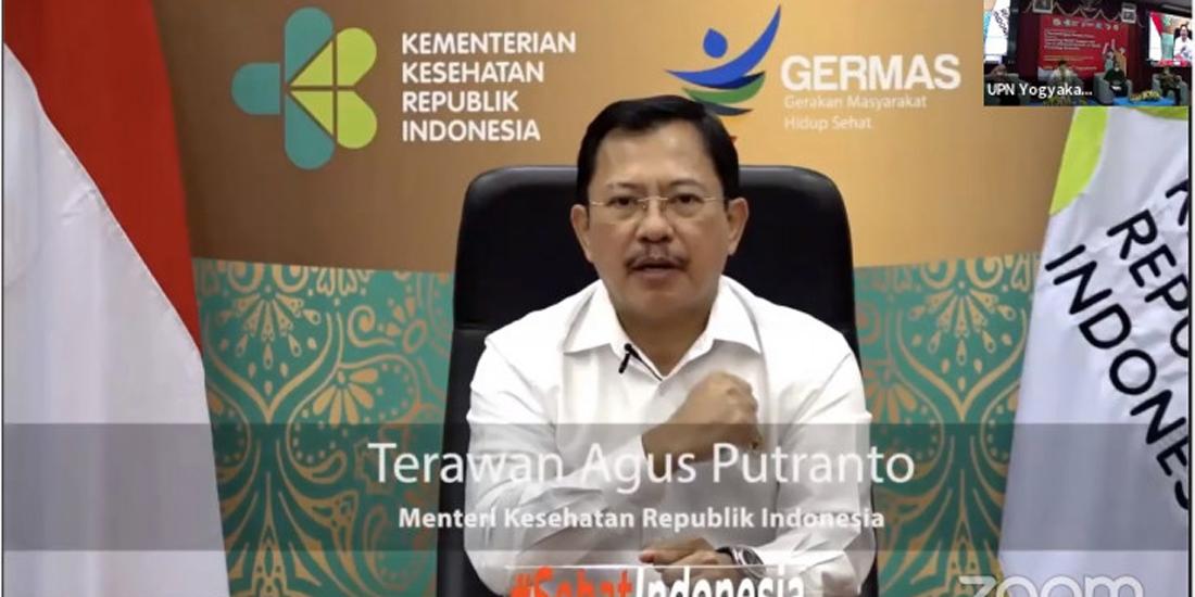 Menteri Kesehatan Letjen TNI (Purn) Dr dr Terawan Agus Putranto SpRad (K)