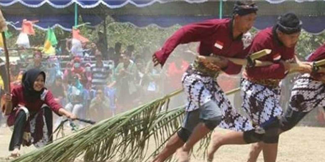 Salah satu permainan tradisional
