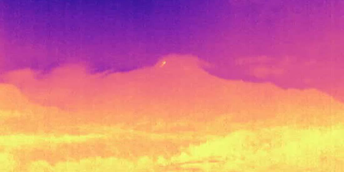 Guguran lava pijar Merapi teepantau kamera thermal