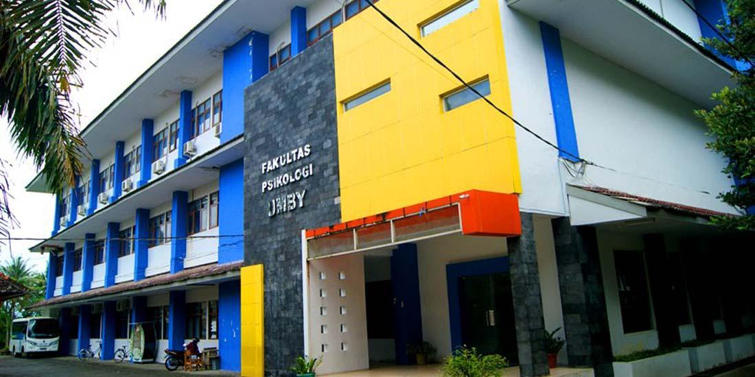 aGedung Fakultas Psikologi UMBY.