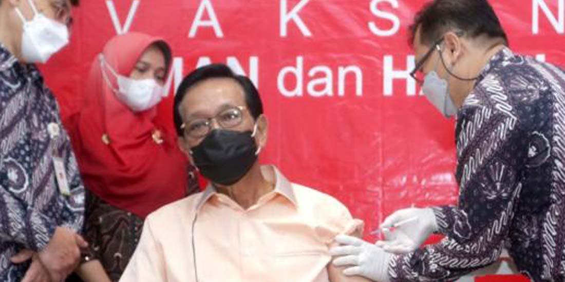 Sultan jalani vaksinasi di RSUP Dr Sardjito