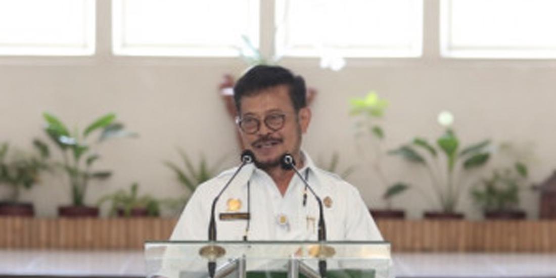 Mentan Dr H Syahrul Yasin Limpo SH MSi MH