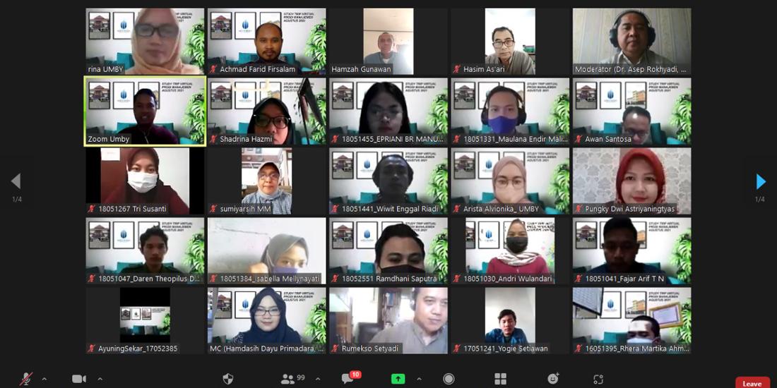 Studytrip Virtual Manajemen UMBY