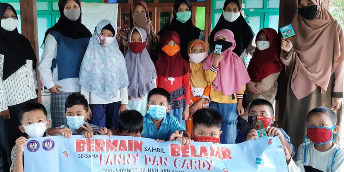 Guru dan siswa Setelah paparan Fun Card