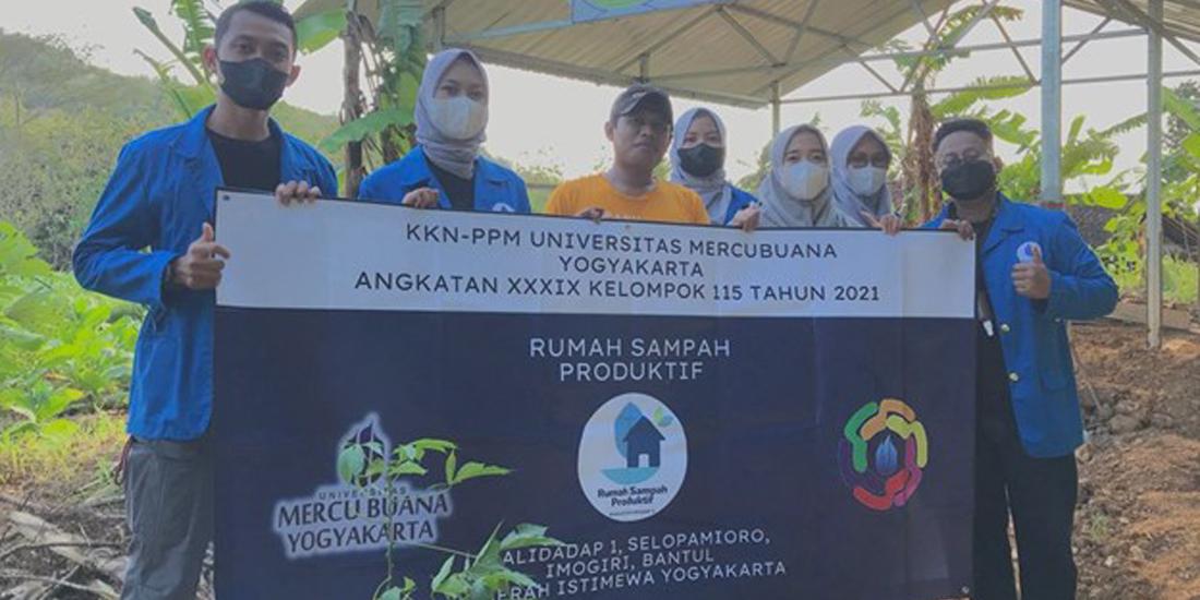 KKN 115 UMBY Bangun Rumah Sampah Produktif