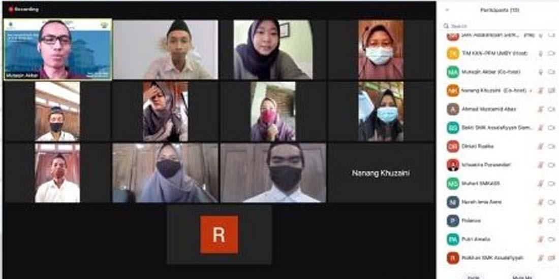 Pelatihan Pembuatan Video Pembelajaran dengan OBS