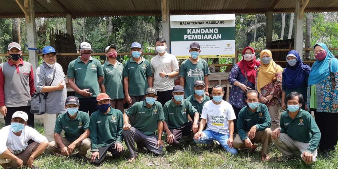 Prodi Peternakan UMBY Beri Pelatihan Ternak Domba