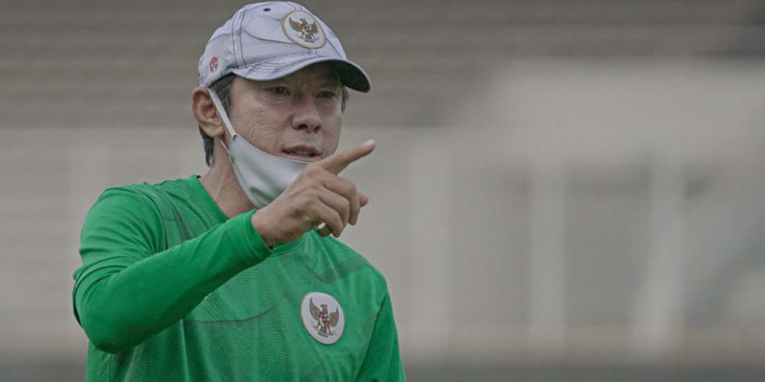 Menu Fisik di Latihan Perdana Timnas U-18. Pelatih Shin Tae-yong