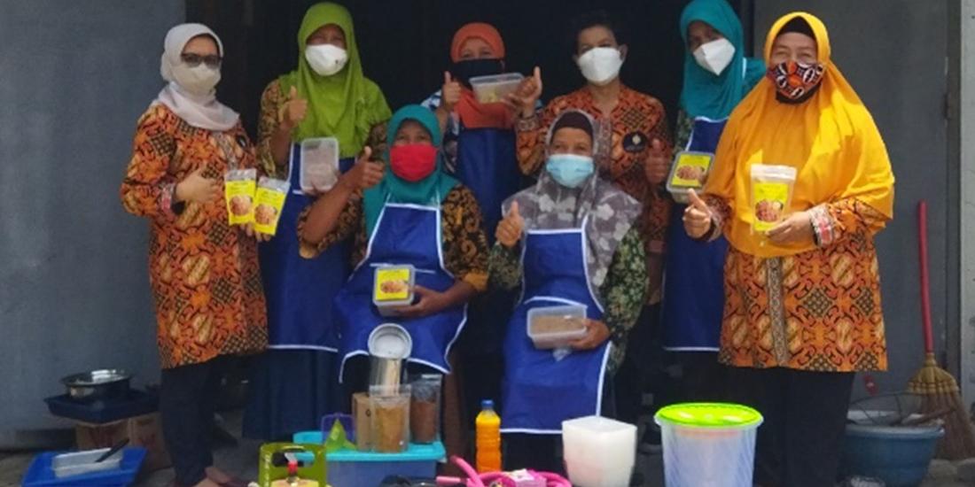 PKM UMBY berikan Pelatihan Produksi Abon Itik