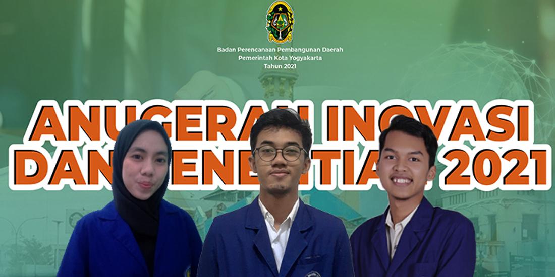 Mahasiswa UNY Juara 2 Anugerah Inovasi Penelitian Kota Yogyakarta